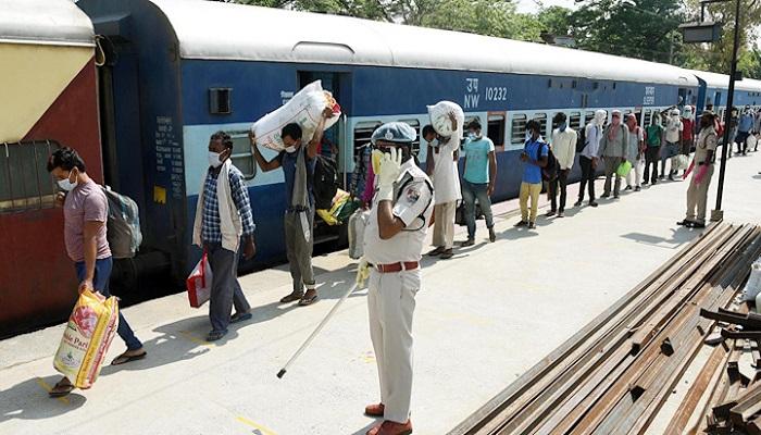 83 shramik special train