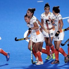 india womens hockey team raises