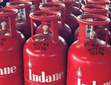 Now LPG cylinders booked