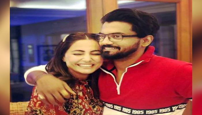 Hina Khan Rocky love