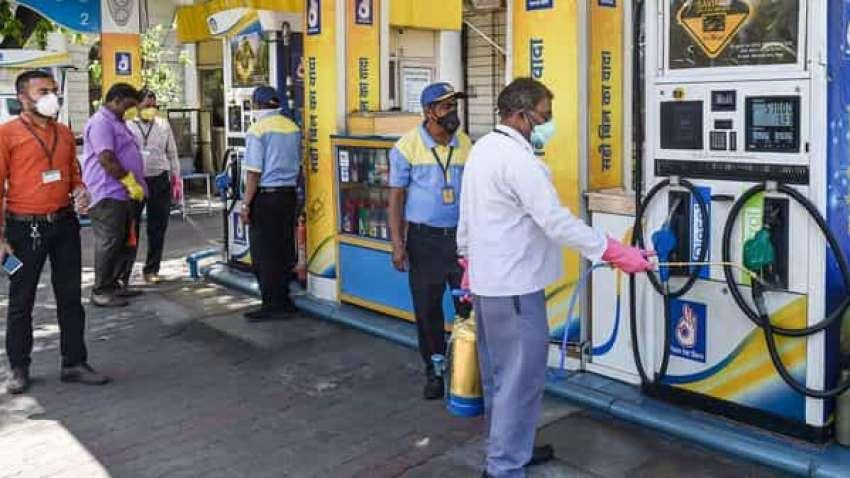 today petrol price