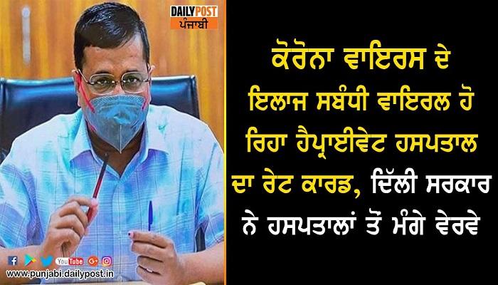 delhi govt asks hospitals