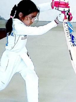 pari sharma batting style