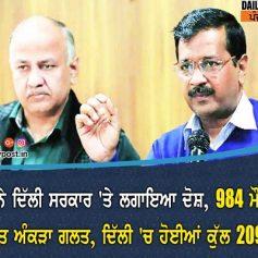 mcd alleged on delhi govt