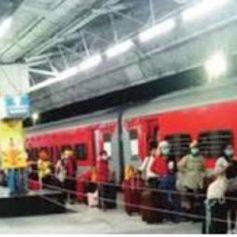 indian railways ultra violet sanitizing machine