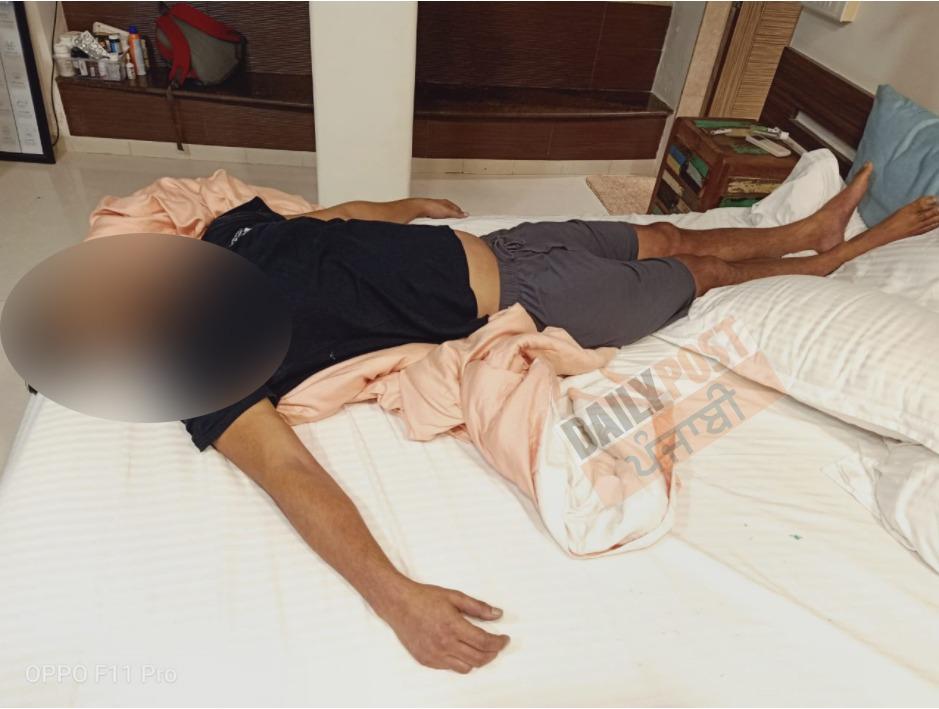 Sushant Singh Rajput Dead body