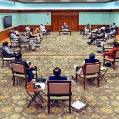 modi cabinet briefing