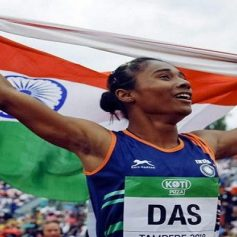 indian athletics nominated hima das