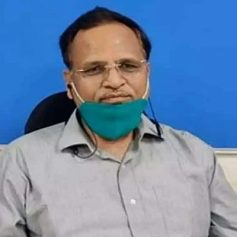 satyendar jain in hospital