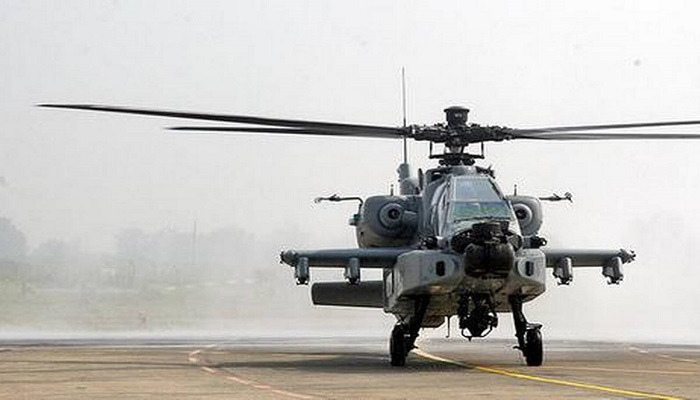 china increased helicopter operations
