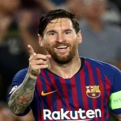 messi shine in come back