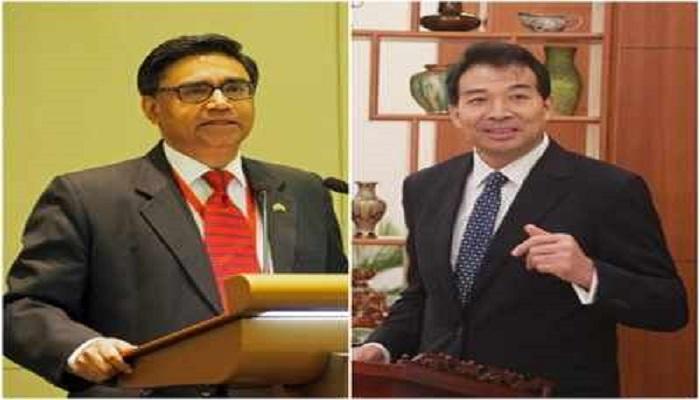 indian ambassador china meet