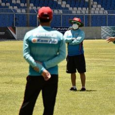 afghanistan players resume training