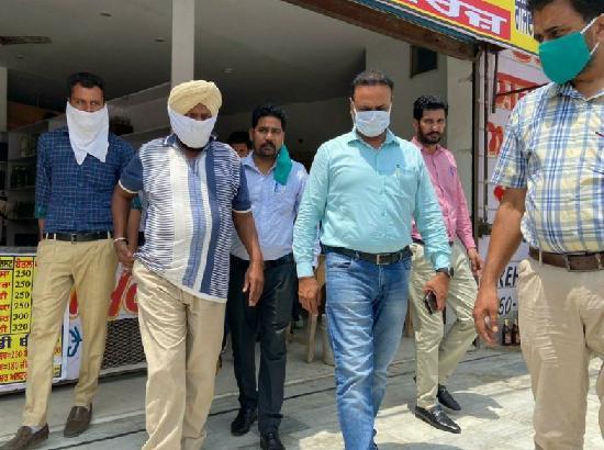 The Vigilance Bureau nabbed ASI