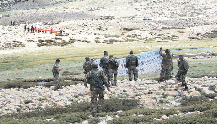 indian army statement on lac