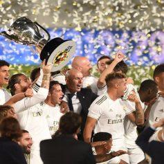 Real Madrid won the Spanish La Liga title