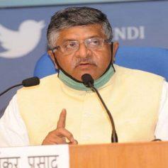 ravi shankar prasad says