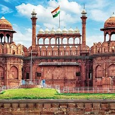 red fort opened to public