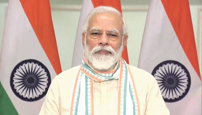 pm modi message on doctors day