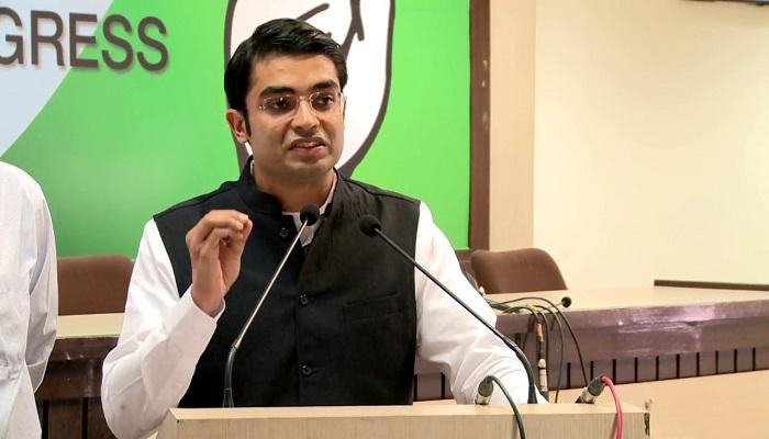 congress again targets modi govt says