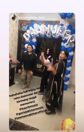 Kaur b birthday post