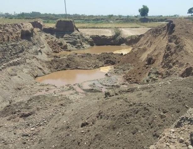 illegal mining in sutlej river