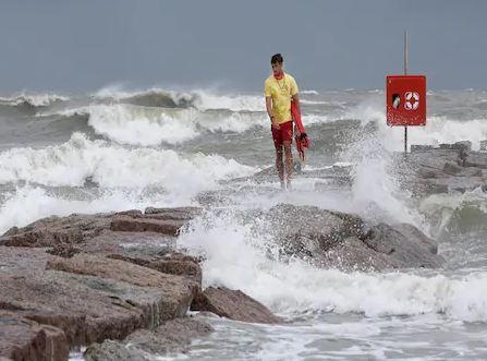 US Hurricane hanna storm