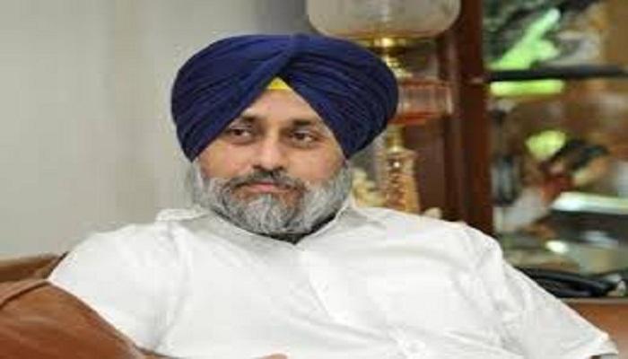 Sukhbir Badal lodges complaint