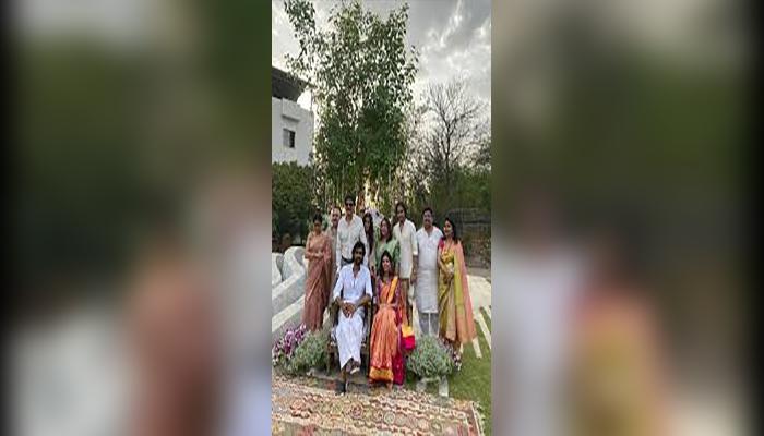 rana meehika haldi ceremony
