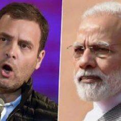 rahul gandhi attacks modi government