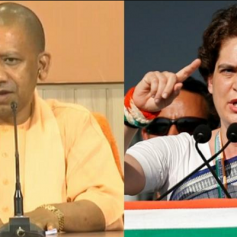 Priyanka Gandhi targets yogi govt