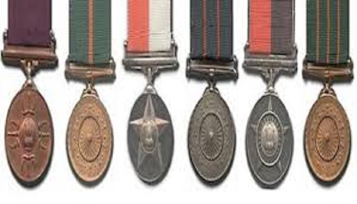 gallanty and service medals announced
