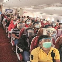 aviation regulator strict about facemask