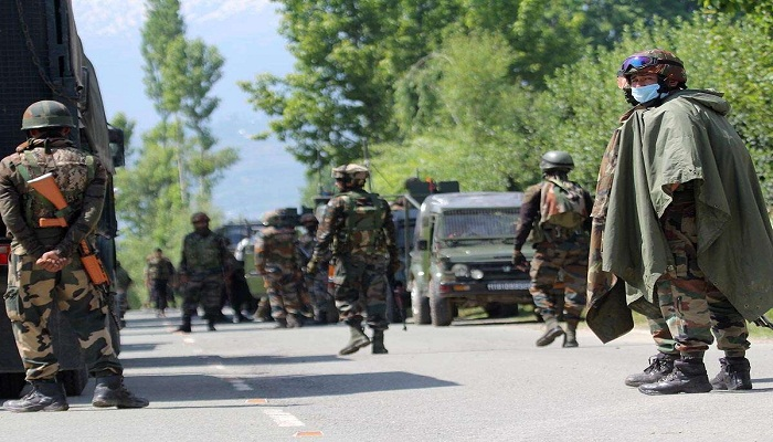 Terrorist attack on army patrolling party
