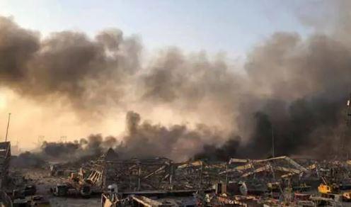 Donald Trump claims Lebanon explosion
