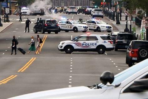 Man shot outside White House