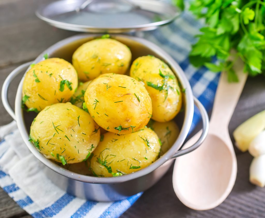 Boiled Potatoes benefits