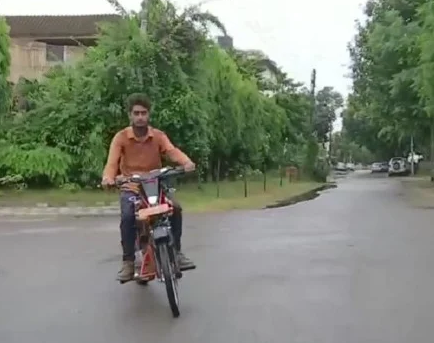 Jugaad made from scrap