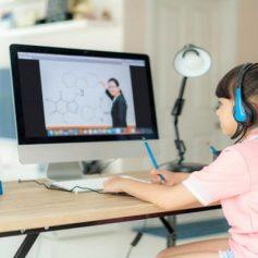 children unable to study online