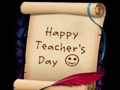 Teacher Day Google Doodle