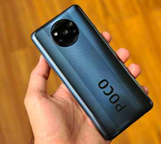 Poco X3 with 6000mAh battery