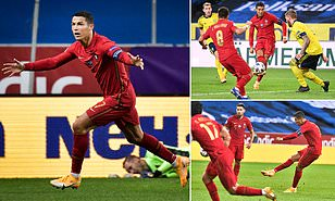 Ronaldo completes 100 in international football