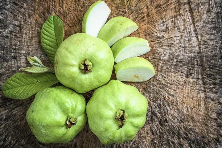 Pregnant women guava