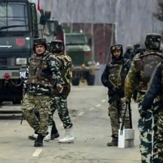 Terrorist attack on security forces in Pulwama