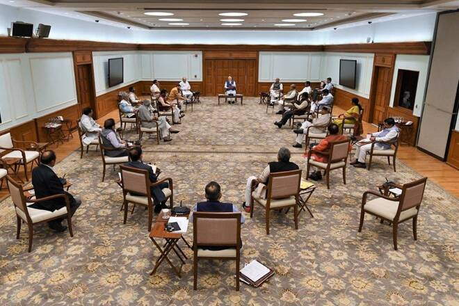 Modi Cabinet meeting on security issues