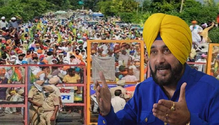 navjot sidhu tweet on farmer protest