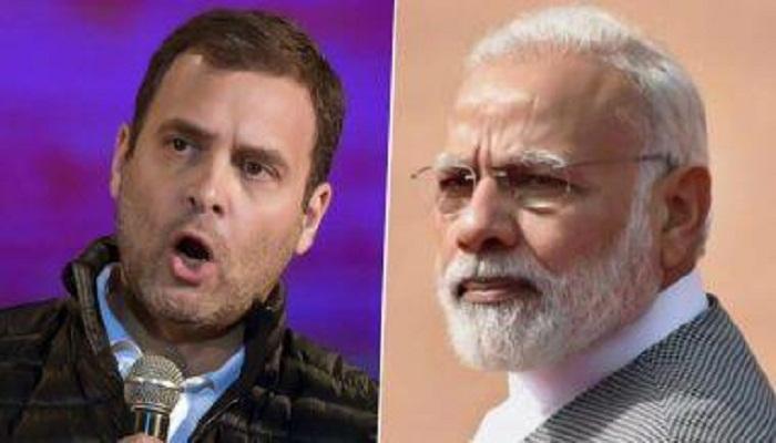 rahul gandhi attacks modi govt