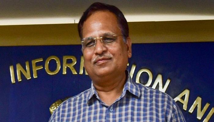 health minister satyendar jain says