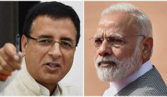 randeep surjewala hits at modi govt