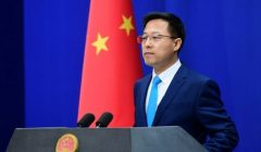 chinese fm spokesperson zhao lijian says